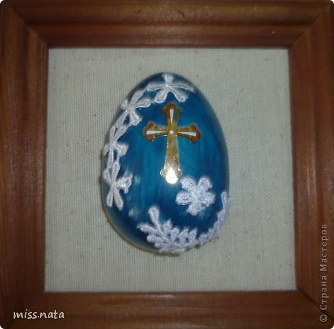 Вот такие пасхальные яйца получились. А МК можно найти тут https://stranamasterov.ru/node/335398 фото 4