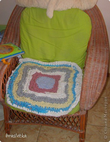 Коврик-сидуха в кресло. фото 1