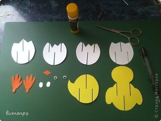 Предлагаю вашему вниманию, поучиться складывать картинки киригами.  фото 2