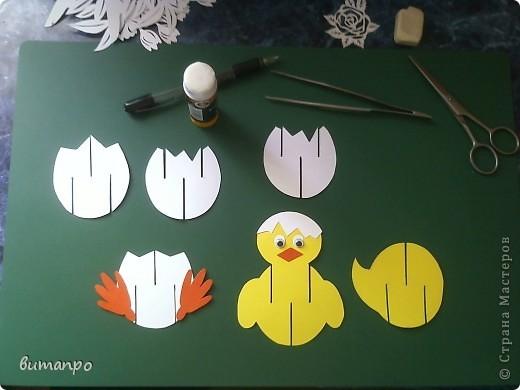 Предлагаю вашему вниманию, поучиться складывать картинки киригами.  фото 5
