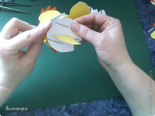 Предлагаю вашему вниманию, поучиться складывать картинки киригами.  фото 13