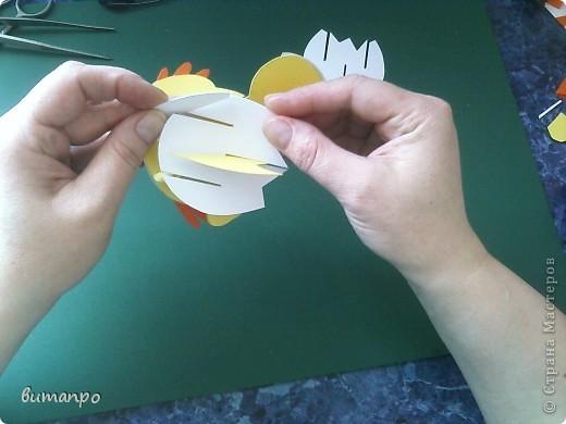 Предлагаю вашему вниманию, поучиться складывать картинки киригами.  фото 15