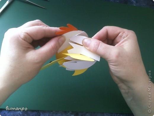 Предлагаю вашему вниманию, поучиться складывать картинки киригами.  фото 22