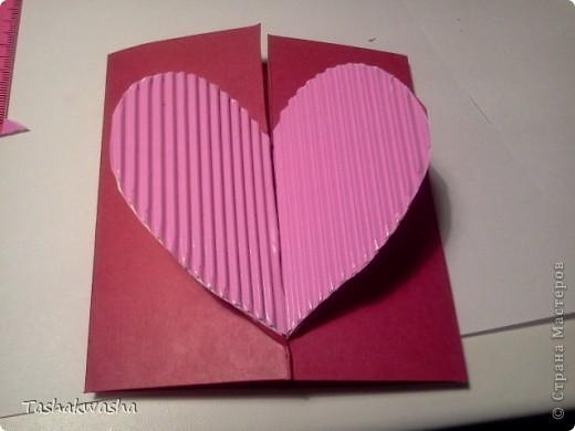 Как из картона сделать открытку