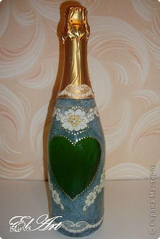 Свадебные бокалы, шампанское фото 10