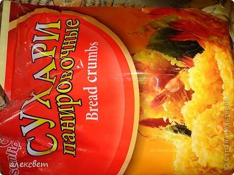 """Два блюда из китайской кухни можно приготовить за час.  """"Кальмар в сухарях"""" . Вкуснотища. Понадобится: тушки кальмара(нарезаем по 8-10 миллиметров, чтоб получились колечки), мука, яйца, сухари корейские, масло растительное, хорошее настроение. фото 9"""