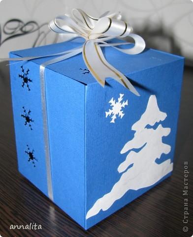 Мини-композиция из подарков и саночек. Саночки вырезала по схеме, предложенной в мастер-классе https://stranamasterov.ru/node/107867  фото 4