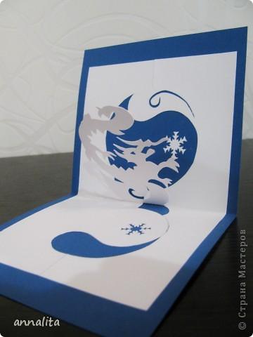 Такие вот открыточки делала к Новому году 2012 фото 4