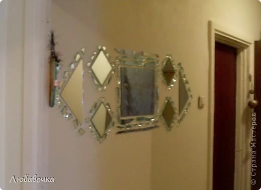 Зеркальное панно фото 2