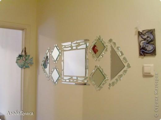 Зеркальное панно фото 1