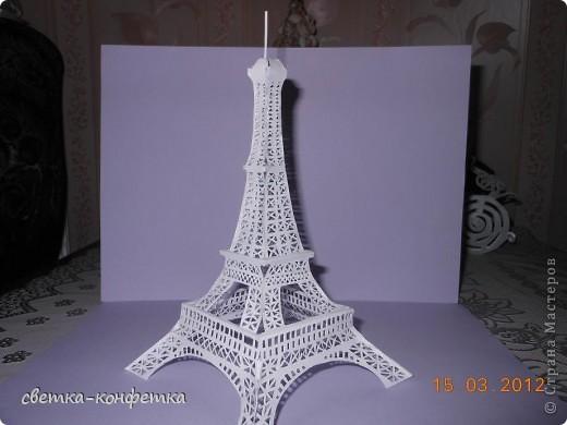 Схемы эйфелевой башни из спичек