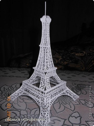 башня схема маленькая эйфелева