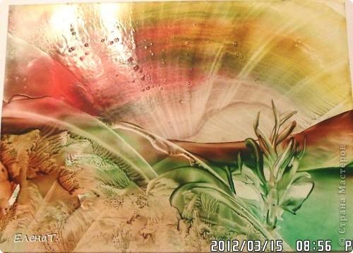 Мастер-класс Энкаустика Мини-МК по энкаустике Бумага Воск парафин фото 1