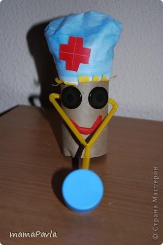 Поделка доктор своими руками