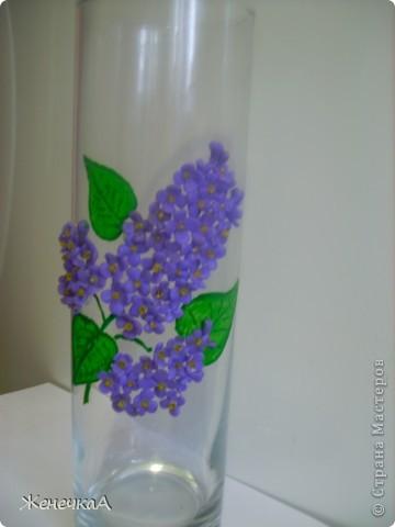 Вот такая вазочка и розами. Уж больно мне этот цвет пластики нравится. фото 4