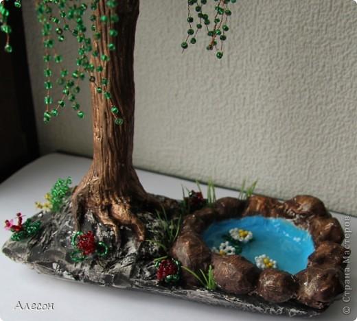 Подставки под деревья из бисера своими руками