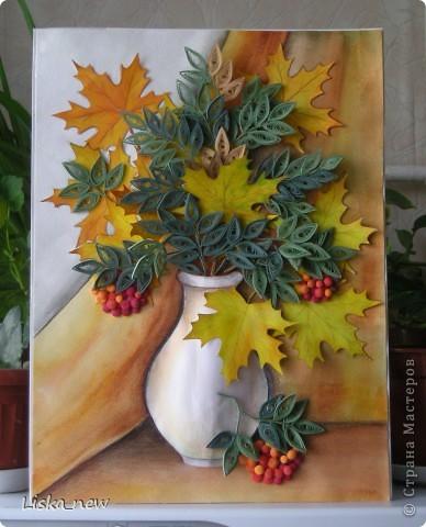 Панно на тему осень