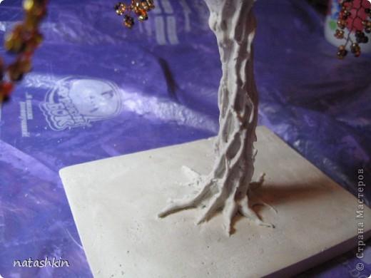 Как сделать ствол для дерева с гипса