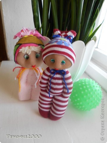 Куколки из носков фото 7