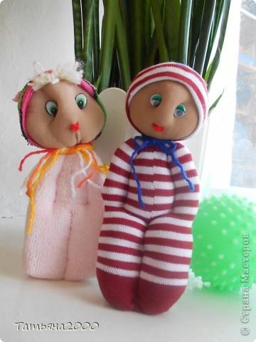 Куколки из носков фото 8