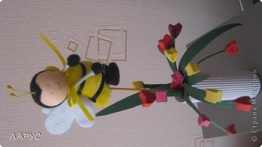 тюльпанчики открытка фото 4