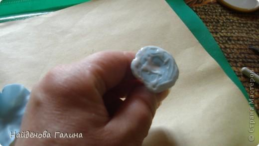 Мастер-класс Лепка Петуния+МК Часть 1  Фарфор холодный фото 10