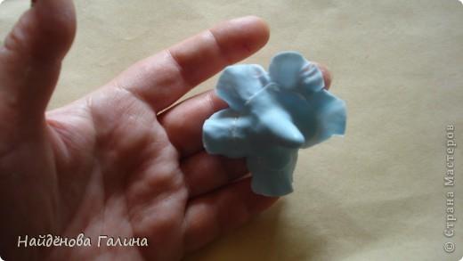Мастер-класс Лепка Петуния+МК Часть 1  Фарфор холодный фото 12
