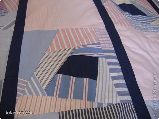 """Одеяло и сидушки на стулья в стиле """"крэйзи-пэчворк"""". фото 2"""