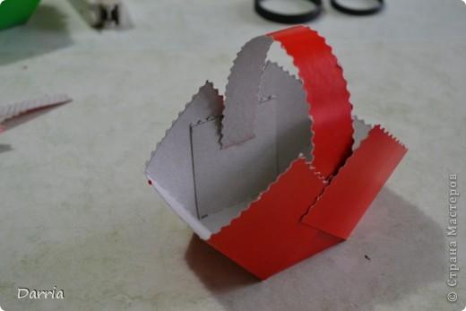 Всем доброго дня!!! Хочу предложить вам сделать корзинки из картона к пасхе. В них можно положить конфетки, яйцо и вообще все что вам захочется! фото 14