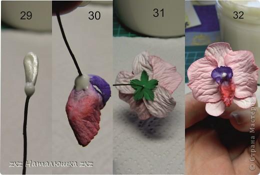 """""""И тут Остапа понесло....""""Это я про себя)))Здравствуйте!Появилась у меня задумка одна,и для её осуществления мне нужны орхидеи..Порылась в сети-нашла орхидеи- оригами;из гофробумаги;из бисера;из пластики,квиллинговые...просто из бумаги не нашла(((Ну и ладно-решила попробовать сама сделать.Но одной скучно-давайте вместе? фото 12"""