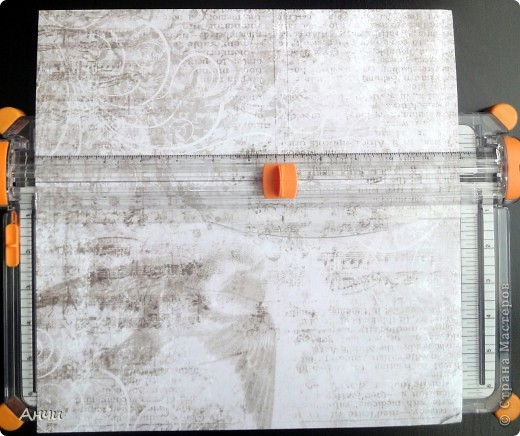 Мастер-класс Скрапбукинг Делаем обложку на паспорт вместе со мной  Бумага Клей фото 3