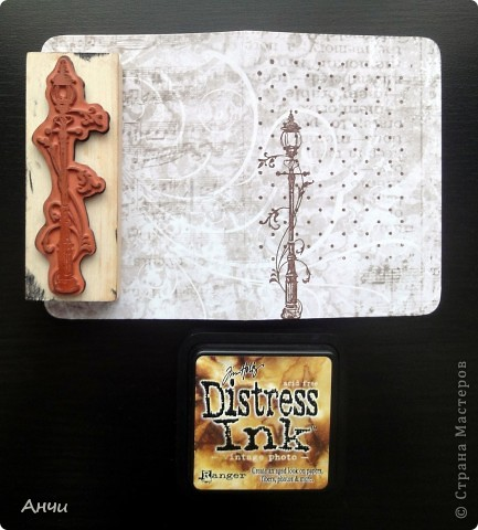 Мастер-класс Скрапбукинг Делаем обложку на паспорт вместе со мной  Бумага Клей фото 8
