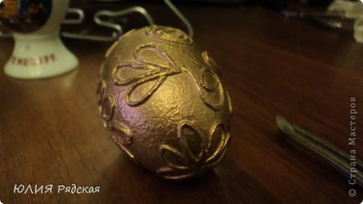 Вот такое золотое яичко у меня получилось фото 4