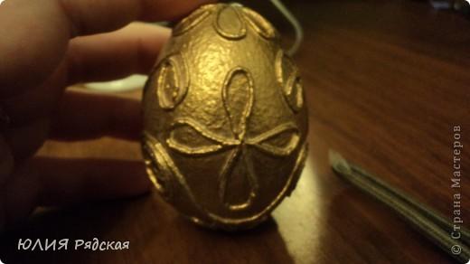 Вот такое золотое яичко у меня получилось фото 2