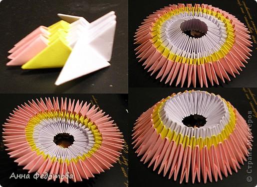 Мастер-класс Оригами китайское модульное Цветные котики из модулей Бумага фото 4