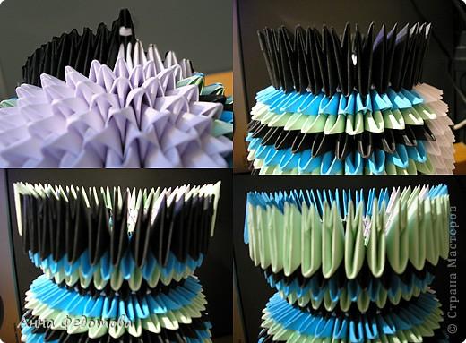 Мастер-класс Оригами китайское модульное Цветные котики из модулей Бумага фото 6
