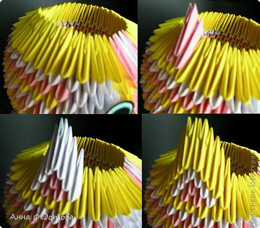 Мастер-класс Оригами китайское модульное Цветные котики из модулей Бумага фото 8