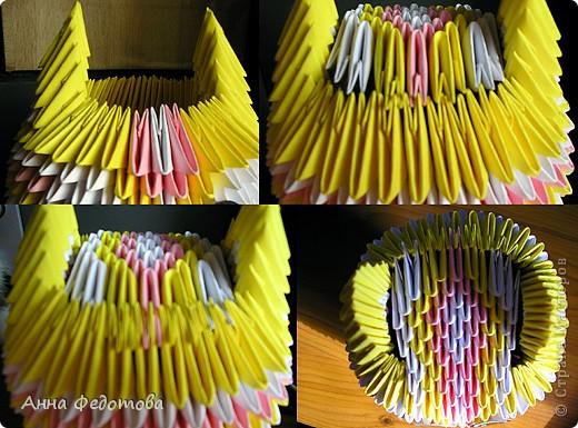 Мастер-класс Оригами китайское модульное Цветные котики из модулей Бумага фото 9