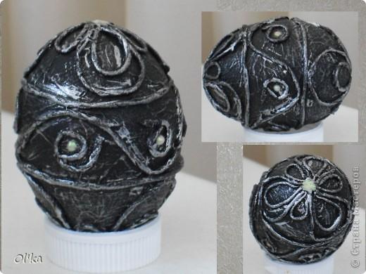 """Девочки, здравствуйте! Пейп-арт Татьяны Сорокиной крепко держит меня в своих сетях. ☺ На этот раз я """"прошлась"""" по яйцам.   Как говорится: снесла Курочка яичко.....  фото 6"""