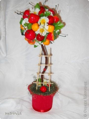 Как сделать своими руками деревья из цветов