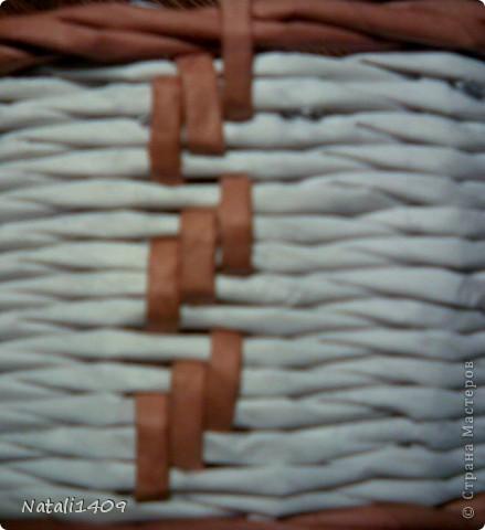 Декор предметов Мастер-класс Поделка изделие Бумагопластика Декупаж Моделирование Плетение Новый узор + МК Бумага газетная Салфетки фото 13