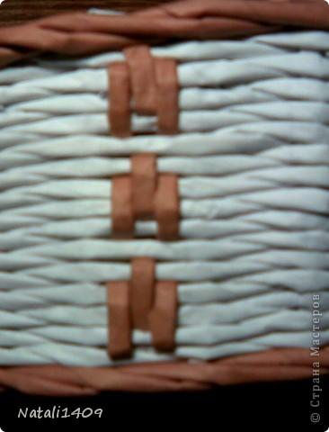 Декор предметов Мастер-класс Поделка изделие Бумагопластика Декупаж Моделирование Плетение Новый узор + МК Бумага газетная Салфетки фото 12