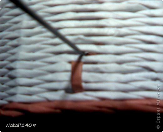 Декор предметов Мастер-класс Поделка изделие Бумагопластика Декупаж Моделирование Плетение Новый узор + МК Бумага газетная Салфетки фото 7