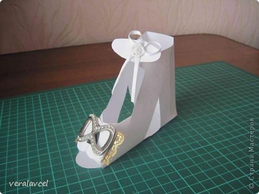 Как сделать туфли из бумаги