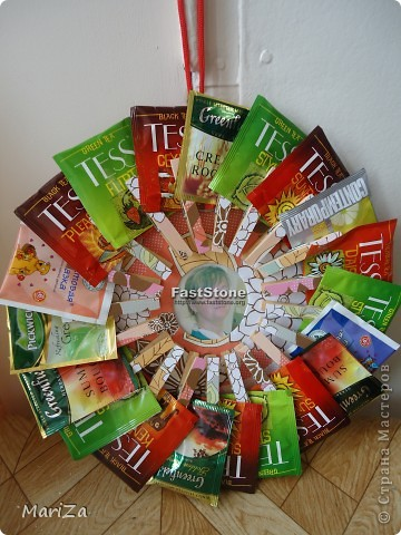 Подарки из чайных пакетиков своими руками