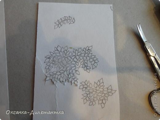 Картина панно рисунок Мастер-класс Папье-маше МК по созданию объемного дерева Бумага Гуашь Салфетки фото 8