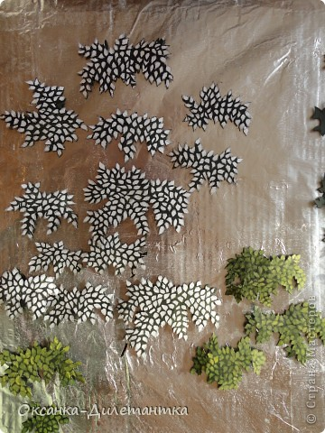 Картина панно рисунок Мастер-класс Папье-маше МК по созданию объемного дерева Бумага Гуашь Салфетки фото 11