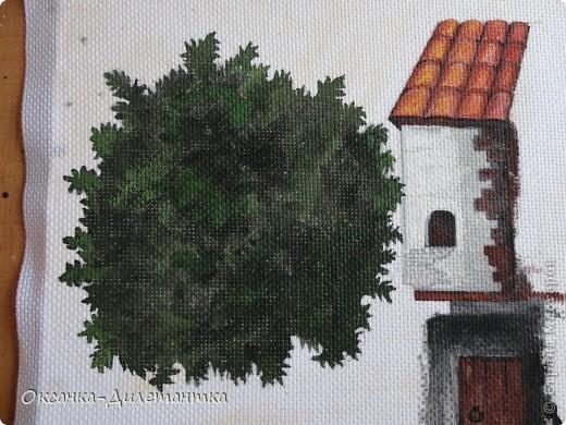 Картина панно рисунок Мастер-класс Папье-маше МК по созданию объемного дерева Бумага Гуашь Салфетки фото 15