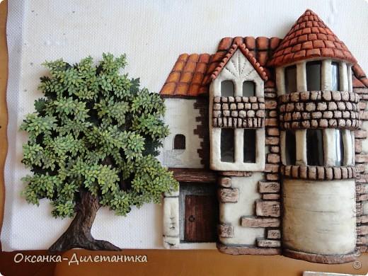 Картина панно рисунок Мастер-класс Папье-маше МК по созданию объемного дерева Бумага Гуашь Салфетки фото 16