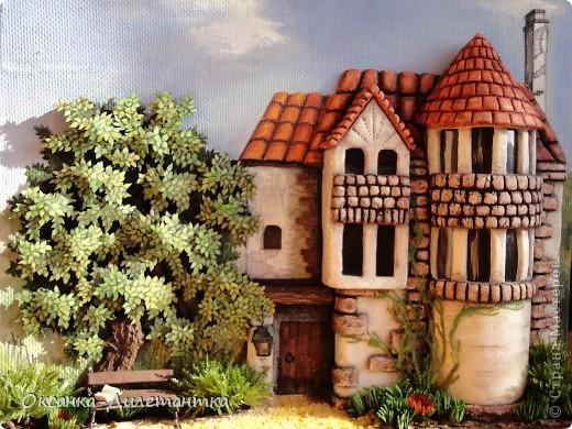 Картина панно рисунок Мастер-класс Папье-маше МК по созданию объемного дерева Бумага Гуашь Салфетки фото 1